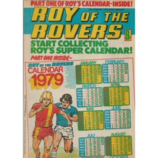 13th January 1979 - Roy Of The Rovers