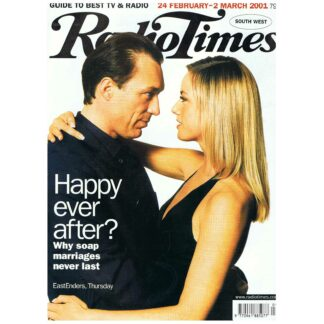 24th February 2001 - Radio Times - Eastenders