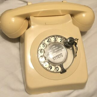 GPO telephones - model Tele.8746 - Ivory - working order