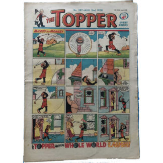 2nd August 1958 - The Topper - issue 287