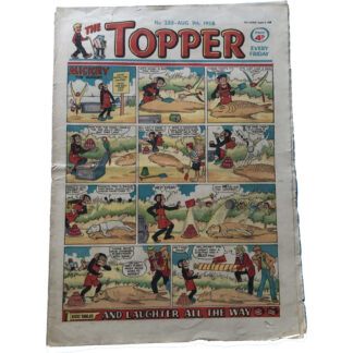 9th August 1958 - The Topper - issue 288