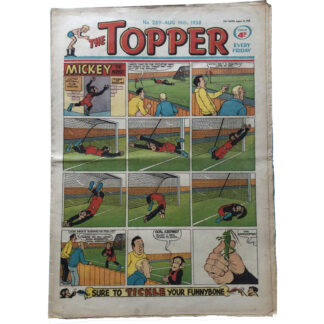 16th August 1958 - The Topper - issue 289