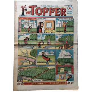 23rd August 1958 - The Topper - issue 290