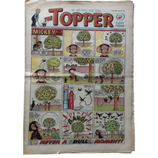 30th August 1958 - The Topper - issue 291