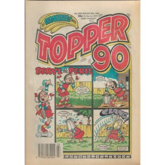 20th January 1990 - The Topper - issue 1929