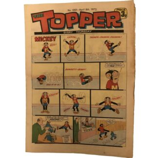 8th April 1972 - The Topper - issue 1001