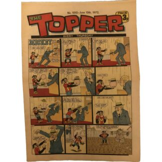 10th June 1972 - The Topper - issue 1010