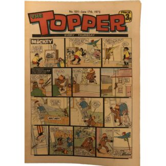 17th June 1972 - The Topper - issue 1011