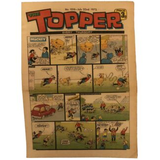 22nd July 1972 - The Topper - issue 1016