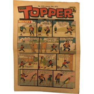 19th August 1972 - The Topper - issue 1020