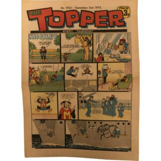 2nd September 1972 - The Topper - issue 1022
