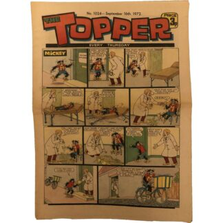 16th September 1972 - The Topper - issue 1024