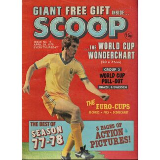 29th April 1978 - BUY NOW - Scoop comic - issue 15