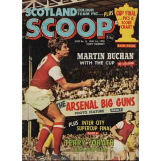 6th May 1978 - BUY NOW - Scoop comic - issue 16