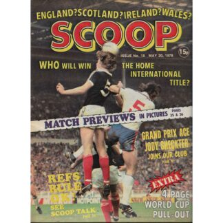20th May 1978 - BUY NOW - Scoop comic - issue 18