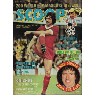 27th May 1978 - BUY NOW - Scoop comic - issue 19