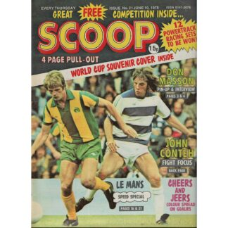 10th June 1978 - BUY NOW - Scoop comic - issue 21