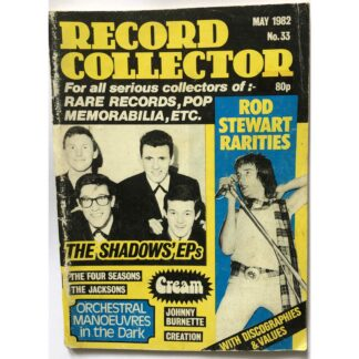 May 1982 - Record Mirror - BUY NOW