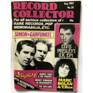 August 1982 - Record Mirror - BUY NOW